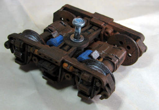 Narrow Gauge Bogie Printed and Painted 3
