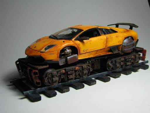 Rail Lamborghini Beauty Shot