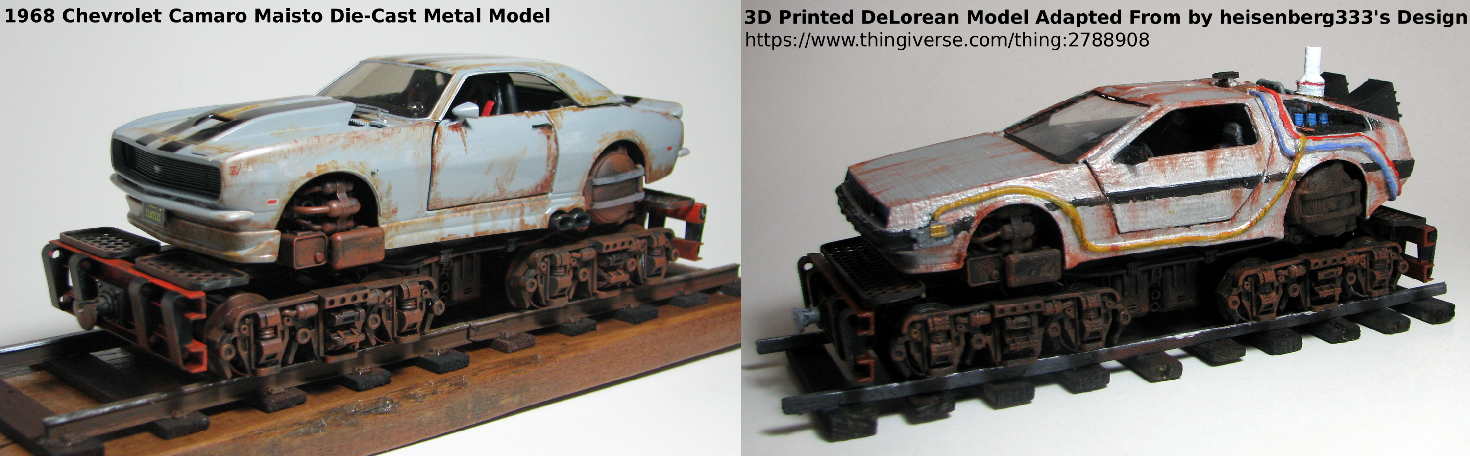 3D Printed Railcar Chassis
