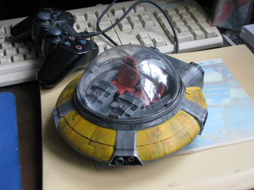 Flying Saucer parked on my desk