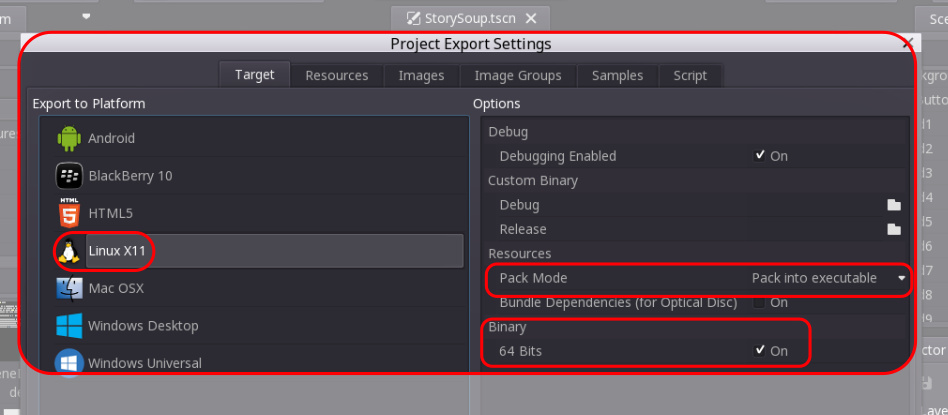 Exporting Godot 2 projects to Android and Other Platforms