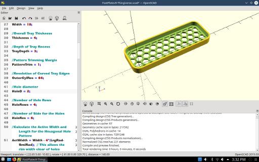 Parametric Footplates