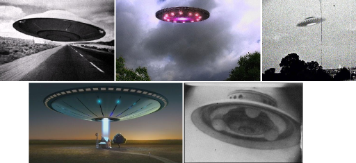 A Gallery of Flying Saucers