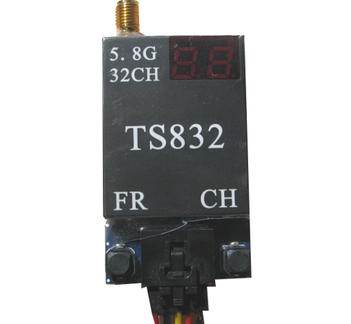 Know your enemy - the front face of the TS832 video transmitter