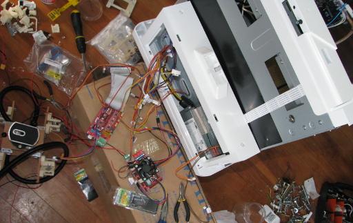 FrankenVinci - Converting a Bricked Da Vinci to RAMPS Controller