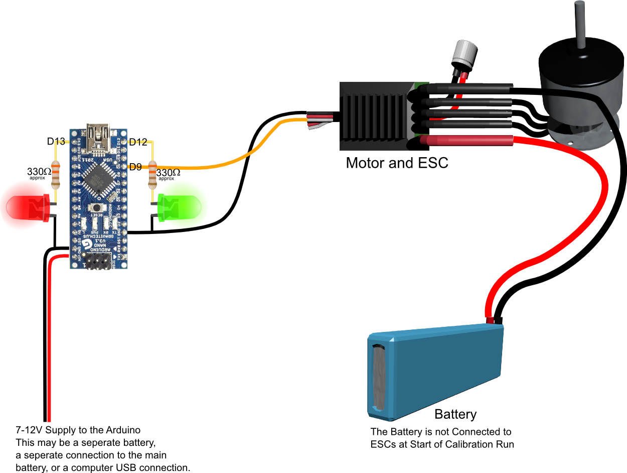 Esc Calibration Using An Arduino on wiring a potentiometer for motor