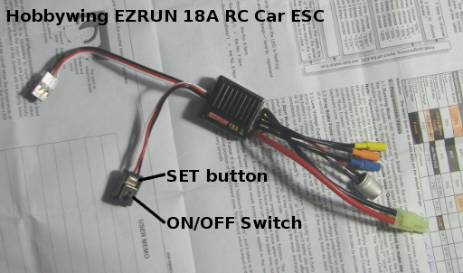 Programming and Calibrating the EZRUN 18A ESCs