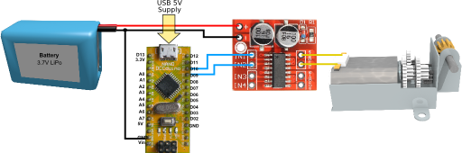 Motor and Controller Connections
