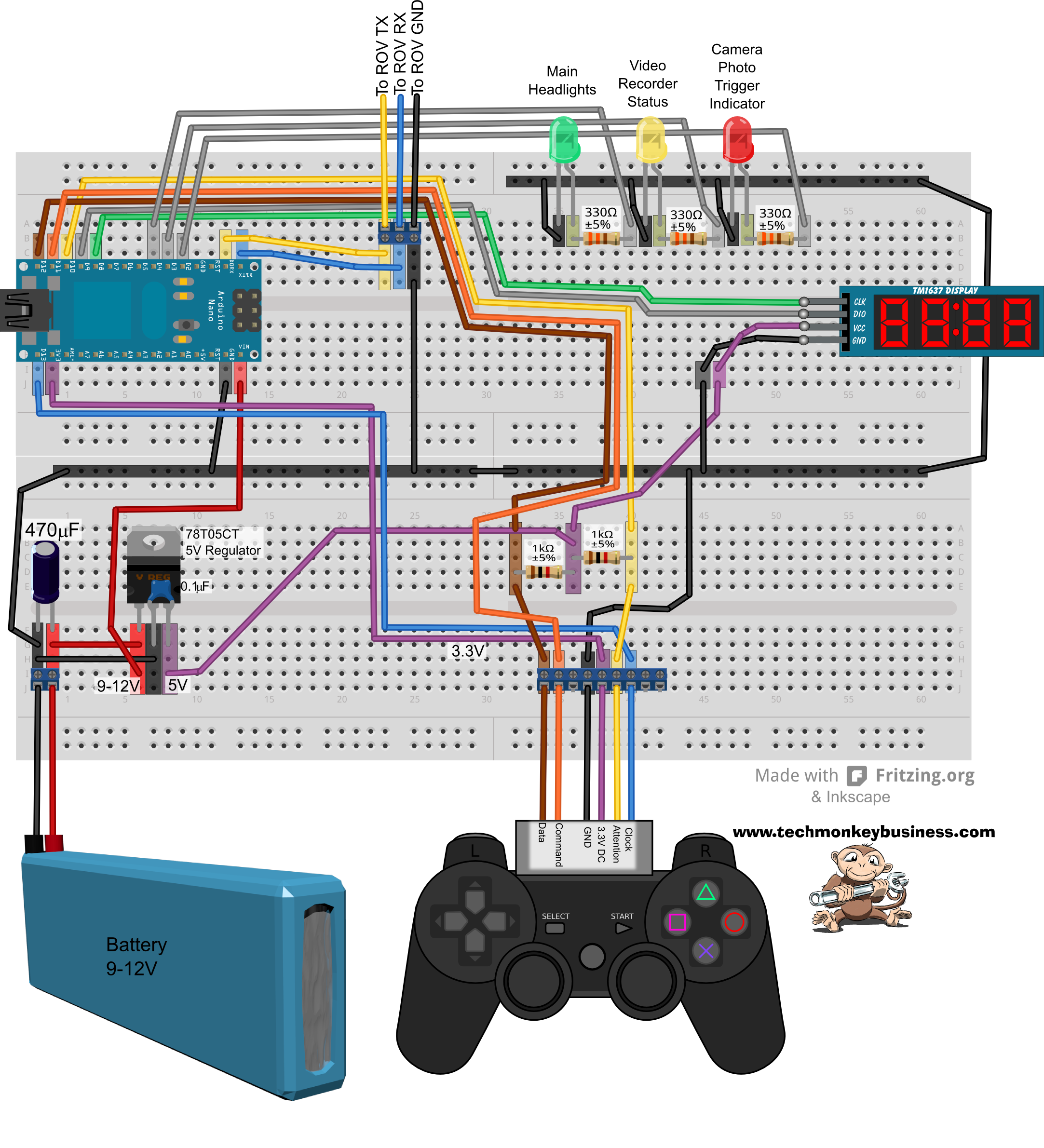 rov wiring diagram   18 wiring diagram images
