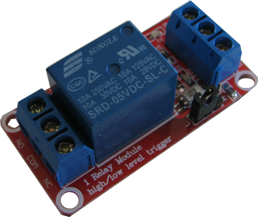 Opto Isolated Relay Module