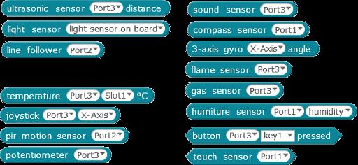 Robotics 1d - mBot Sensors